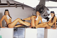 Air Stewardess Naked