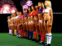 World Cup Football Girls