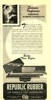 1945 - Republic Rubber - Better than Before!