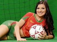 Soccer Jerseys World Cup Body Art Paintings