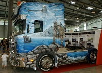 Painted Scania