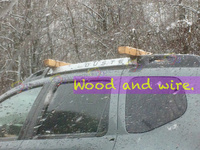 Dacia duster - Wood and wire