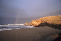 A Rainbow that Leads to Pacific Gold