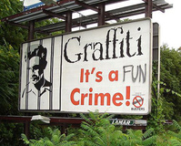 Graffiti is a FUN crime!