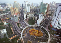 Nice Intersection in China