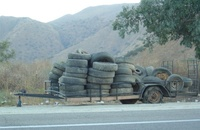 Irony: so many tires but not your size...