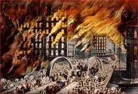Great Chicago Fire Painting 3