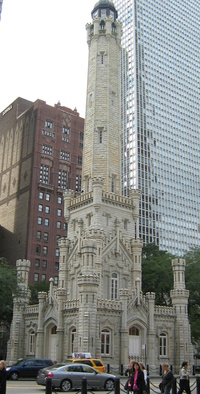 Chicago Water Tower (October 2008)