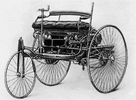 1885 - Benz Patent Motorwagen
