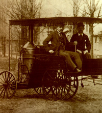 1890 - Ransom's Steam Car