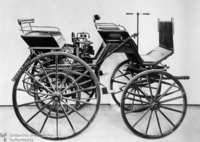 1886 - Gottlieb Daimler's First Automobile