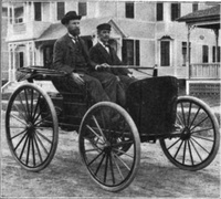 1893 - First Gasoline Powered Car in America