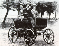 1896 - Ransom E. Olds's First Petrol Powered Car