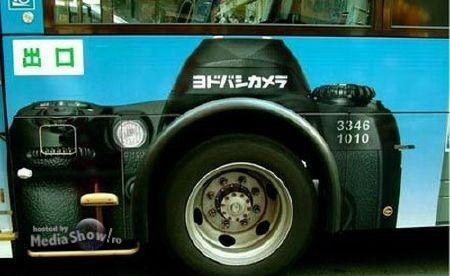 Bus Ad: Photo Camera