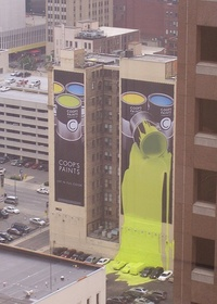 Coop's Paints Billboard 03