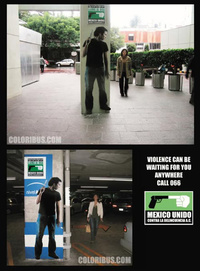 Violence Poster in Mexico