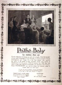 1924 - Pathe Baby Projector
