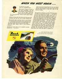 1945 - Nash Motors - When You Meet Again...