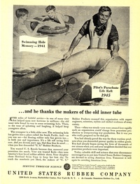 1945 - United States Rubber Company - He Thanks the Makers of the Old Inner Tube