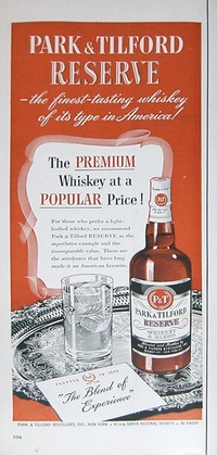 1950 - Park&Tilford Whiskey