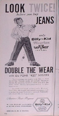 1959 - Billy the kid Jeans 1