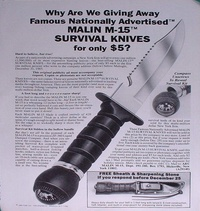 1985-Malin-M-15-Survival-Knife