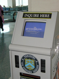 Treasury US Customs Service: BSOD