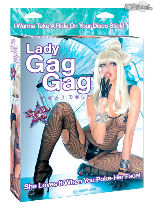 Lady Gag Gag Love Doll: She Loves It When You Poke-Her Face!