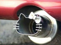 Hello Kitty Exhaust Pipe!