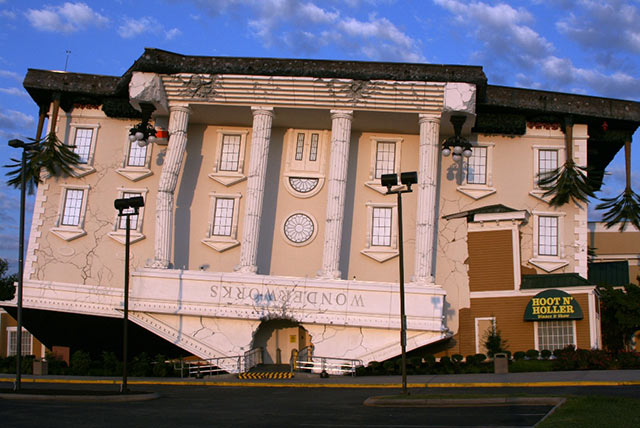 Wonderworks, Pigeon Forge, TN, USA