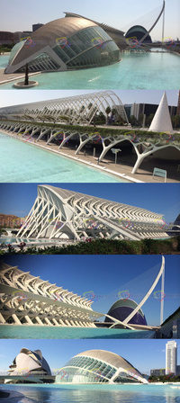 The Valencia Opera House, Valencia, Spain