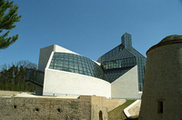 The museum of modern art, Luxembourg