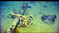Titanic Wreck Remains On The Bottom Of The Ocean