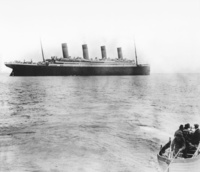 Titanic Leaving Queenstown (now Cobh)