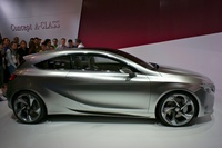 Mercedes Benz Concept A-Class - side