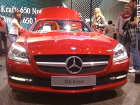 Mercedez Benz SLK-Class Red