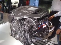 Mercedez Benz AMG Engine