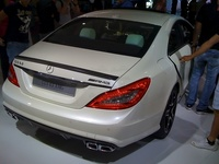 Mercedes Benz CLS 63 AMG - rear