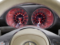Mercedes Benz Concept A-Class - dashboard