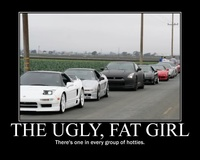 There is one fat girl in every group of hotties