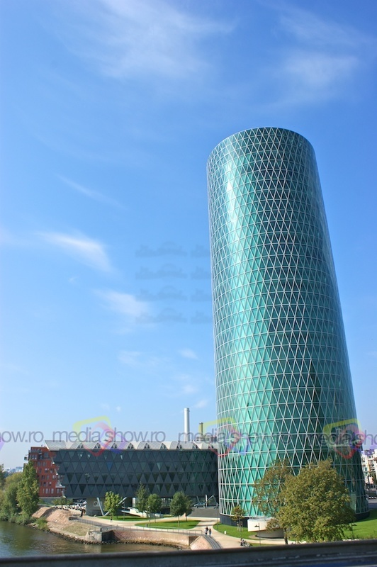 Westhafen Tower, Frankfurt, Germany