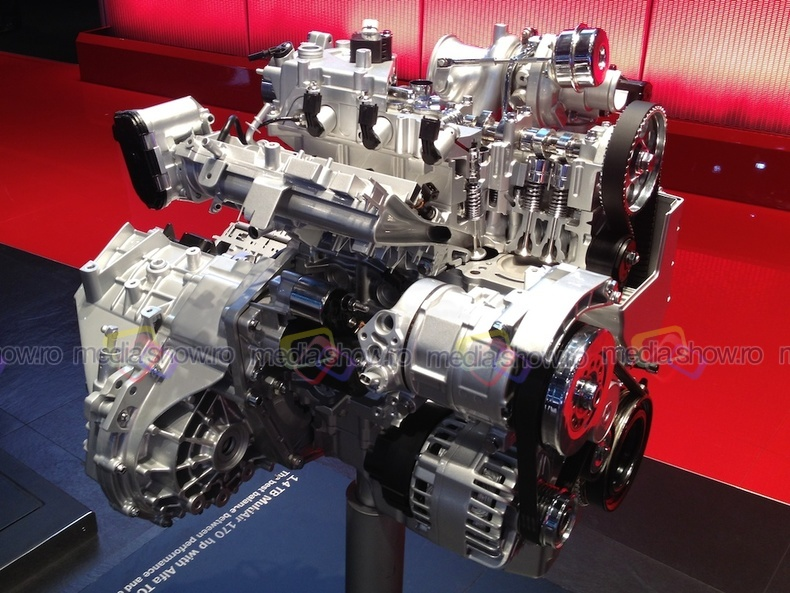 Alfa Romeo engine 1.4 TB MultiAir 170hp with automatic gearbox Alfa TCT