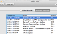 Software Update Java 2012-006