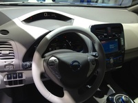 Nissan Leaf - interior