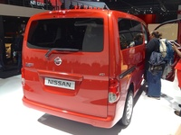 Nissan NV200 Evalia - rear view