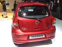 Nissan Micra Elle - rear view