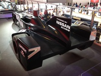 Nissan Deltawing - rear view