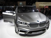 BMW Concept Active Tourer - front view
