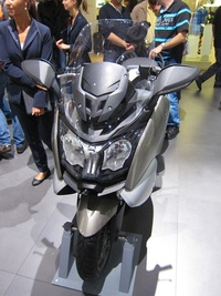 BMW C 650 GT - front view
