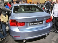 BMW ActiveHybrid 3 - rear view
